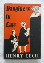 Daughters in Law - Henry Cecil (1st edition, 1961) - vintage hardback fiction book